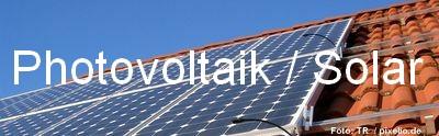 Photovoltaik Immobilien